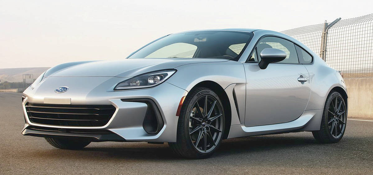 The redesigned Subaru BRZ gets much more aggressive front bodywork with all sorts of ducting. A 2.4-litre four-cylinder engine replaces the 2.0-litre. PHOTO: SUBARU